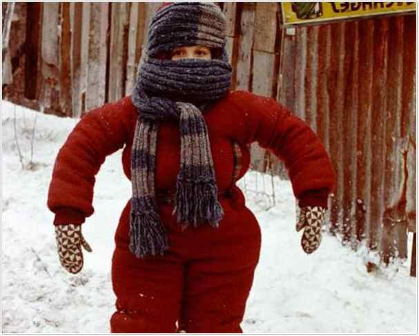 A Christmas Story Kid In Snowsuit.Christmas Story Snowsuit Gif Thecannonball Org